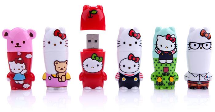 Hello Kitty X MIMOBOT USB Flash Drive Collection