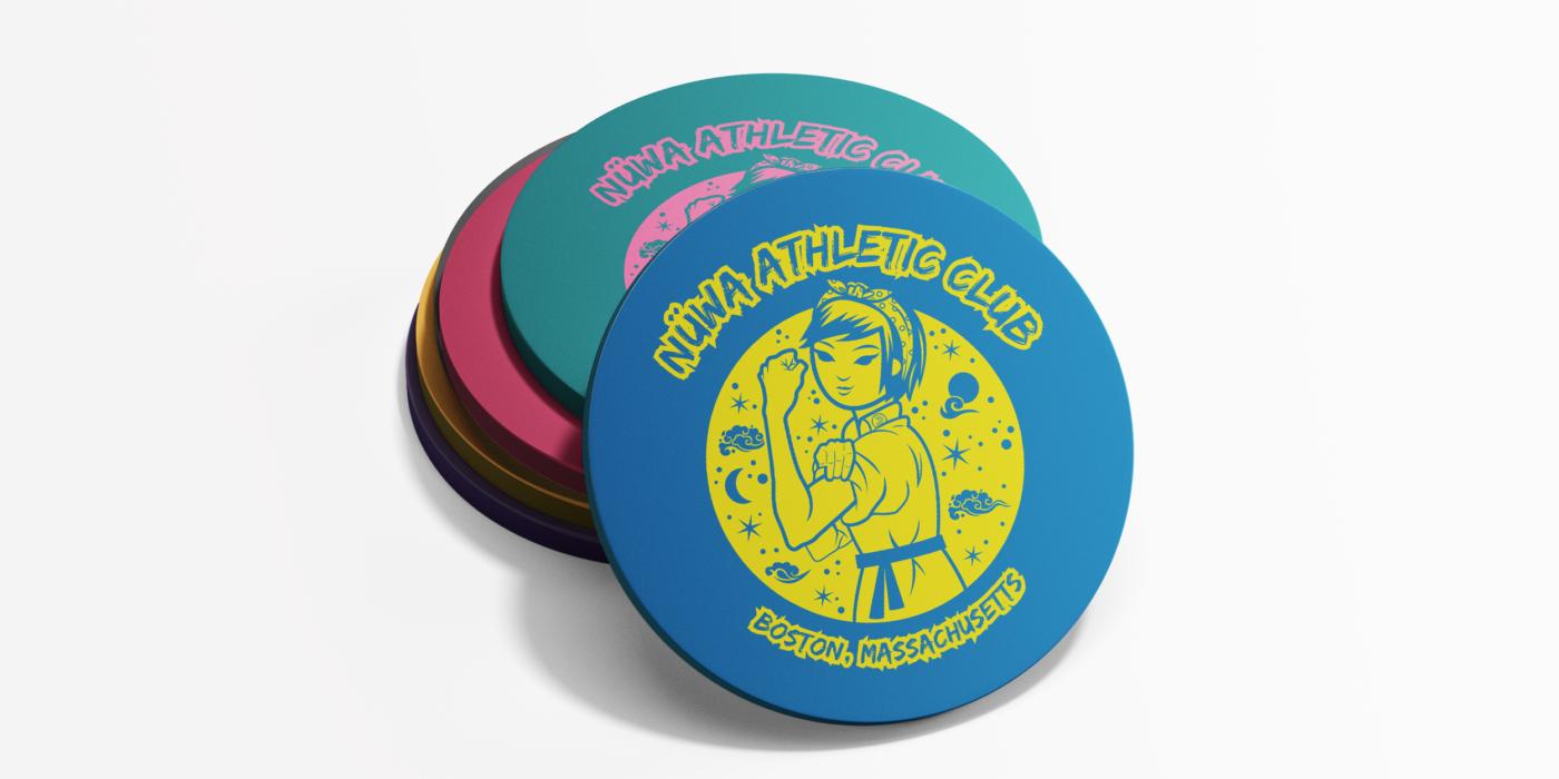 Nuwa Athletic Club Logo and Branding: Lillian Lee Art & Design