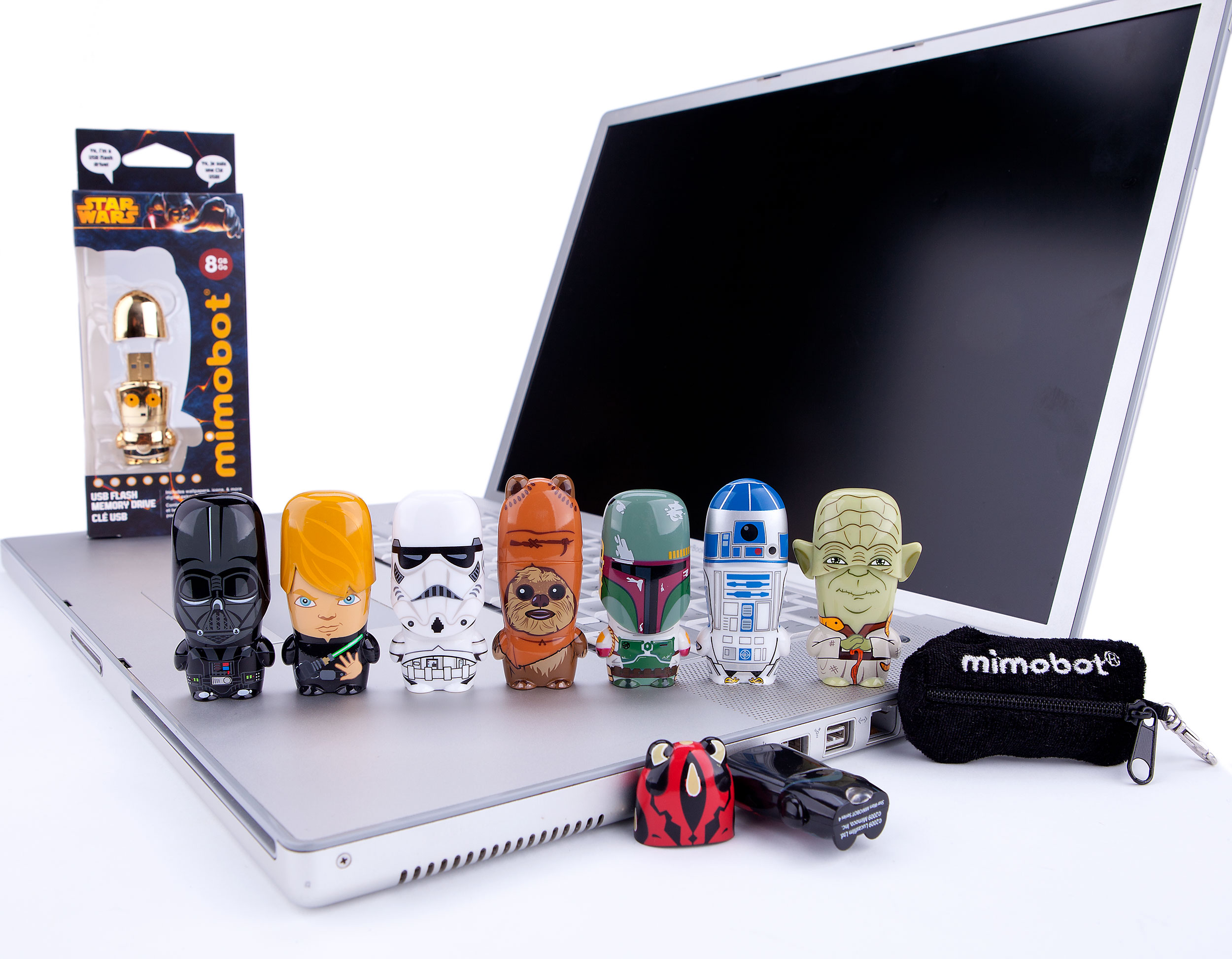 Star Wars MIMOBOT USB flash drives for Mimoco | LILLIAN LEE Art & Design