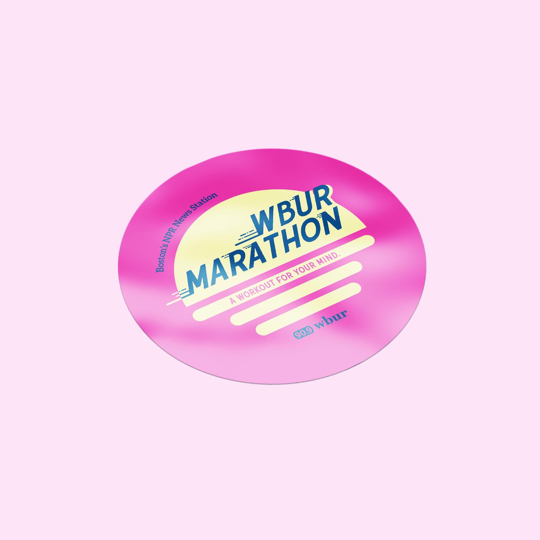 WBUR Marathon: Lillian Lee Art & Design