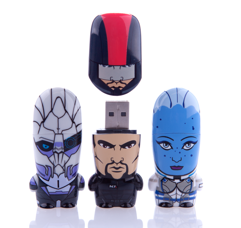 Mass Effect MIMOBOT USB Flash Drive for Mimoco by Lillian Lee Art & Design