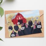 2020 WBUR Holiday Card   Lillian Lee Design & Illustration