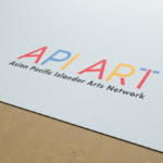 API ART logo by Lillian Lee Art & Design
