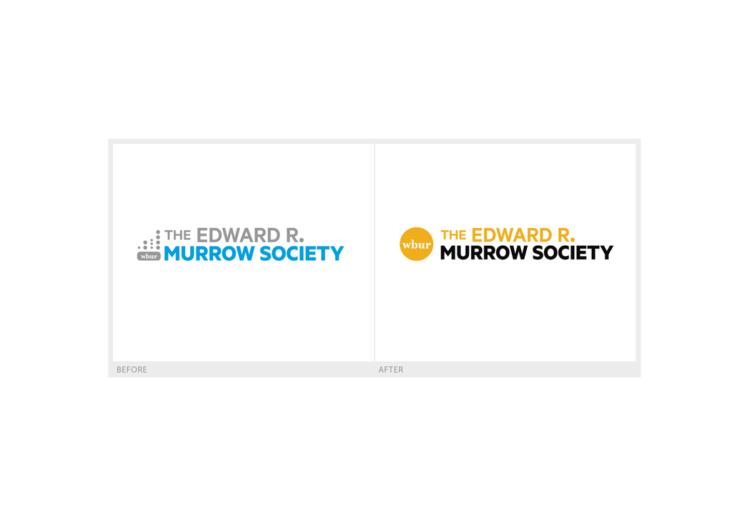 WBUR Murrow Society logo