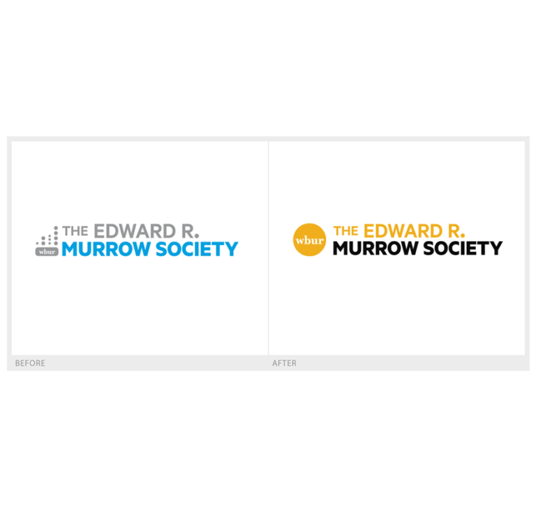WBUR Murrow Society logo
