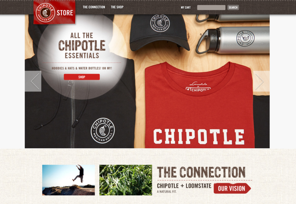 Chipotle merch