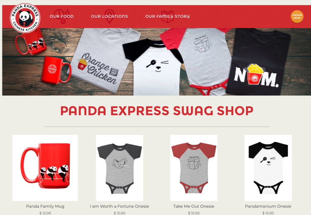 Panda Express merch