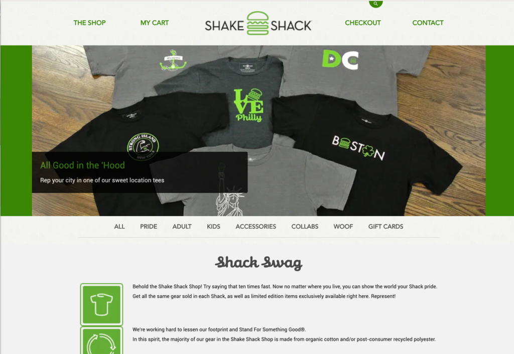 Shake Shack merch