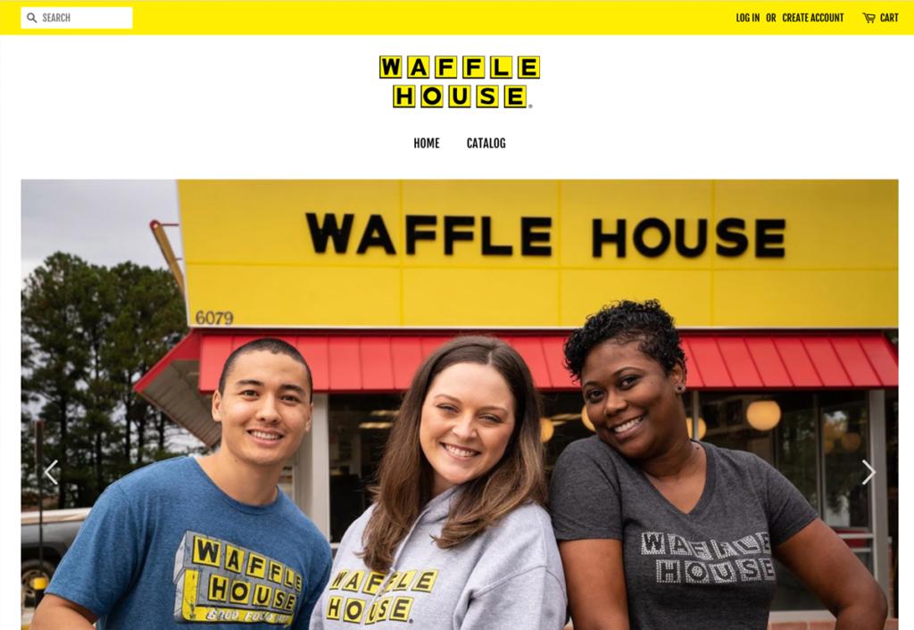 Waffle House merch