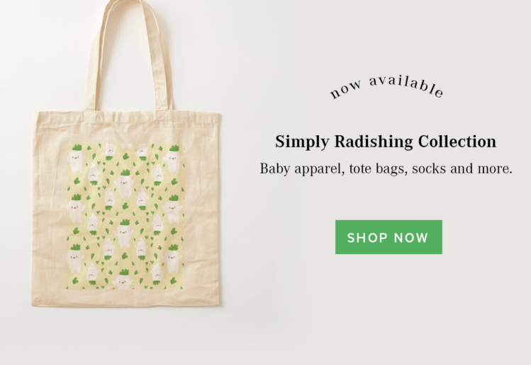 Simply Radishing Collection by LILLIAN LEE