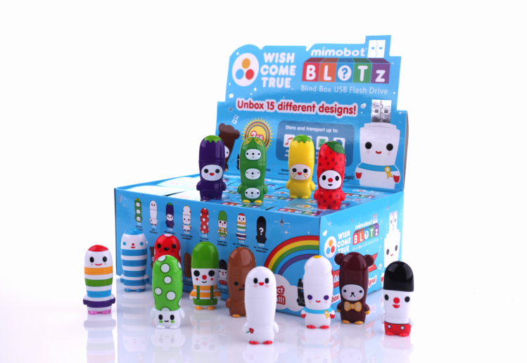 FriendsWithYou MIMOBOT Blind Box Packaging for Mimoco | LILLIAN LEE Art & Design
