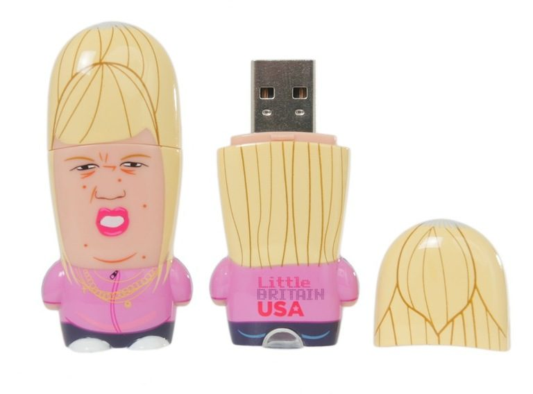 HBO's Little Britain USA MIMOBOT USB Flash Drive for Mimoco | LILLIAN LEE Art & Design