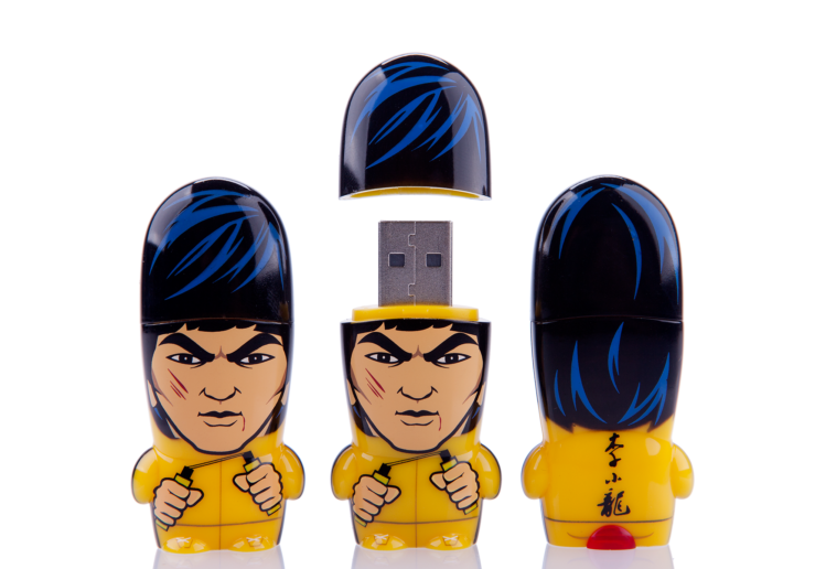 Bruce Lee MIMOBOT USB flash drive for Mimoco | LILLIAN LEE Art & Design