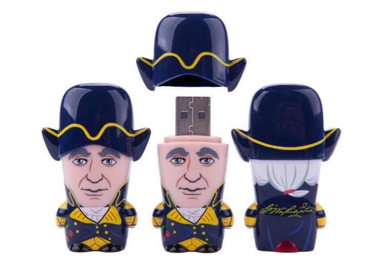 George Washington MIMOBOT USB flash drive for Mimoco | LILLIAN LEE Art & Design