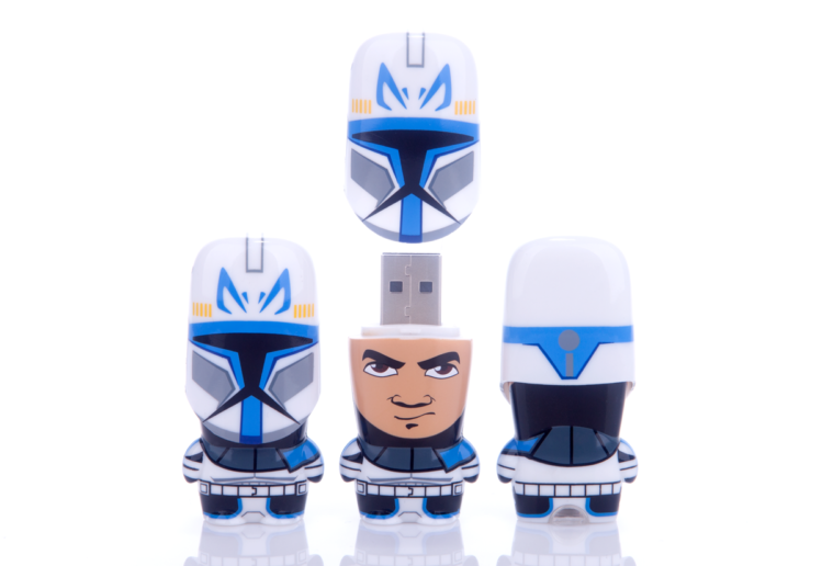 Star Wars Captain Rex MIMOBOT USB flash drive for Mimoco | LILLIAN LEE Art & Design