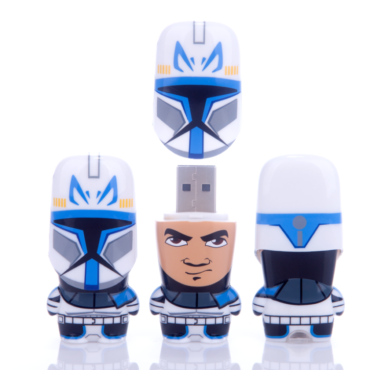 Star Wars Captain Rex MIMOBOT USB flash drive for Mimoco | LILLIAN LEE Art & Design