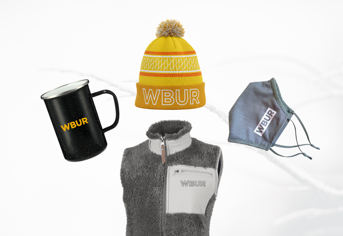 WBUR Apparel & Drinkware: The Winter Collection | Lillian Lee Design & Illustration